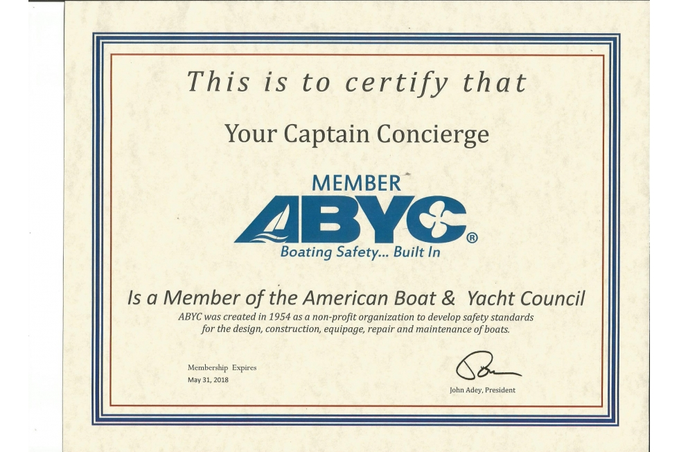 ABYC Member Certification